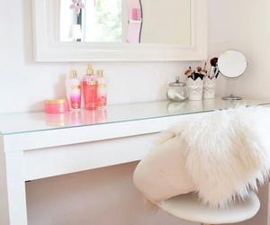 dream closet, girly bedroom, and dressing room image