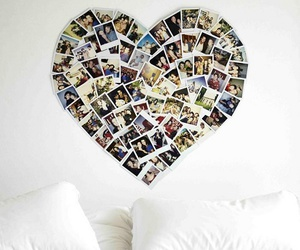 heart and photos image