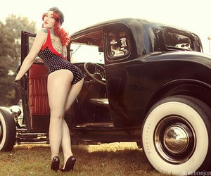photography, pinup, and rockabilly image