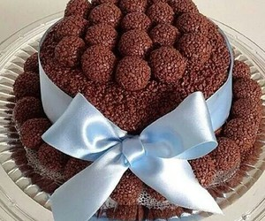 bolo, cake, and chocolate image