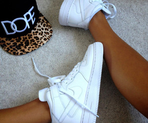 dope, nike, and white image