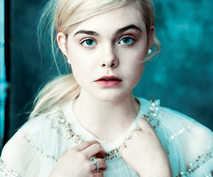 Elle Fanning, model, and blonde image
