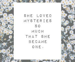 mystery, quote, and grunge image
