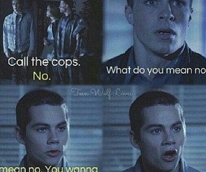 teen wolf, funny moments, and stiles image