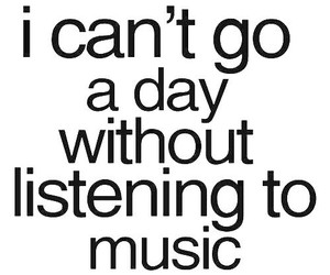 music, quotes, and text image