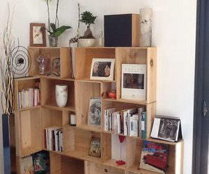 box, diy, and shelves image