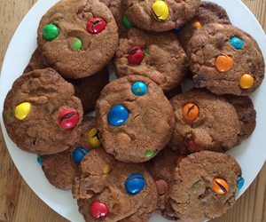 bake, Cookies, and m&m image
