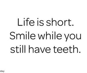 life, smile, and teeth image