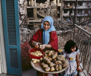 syria, life, and war image