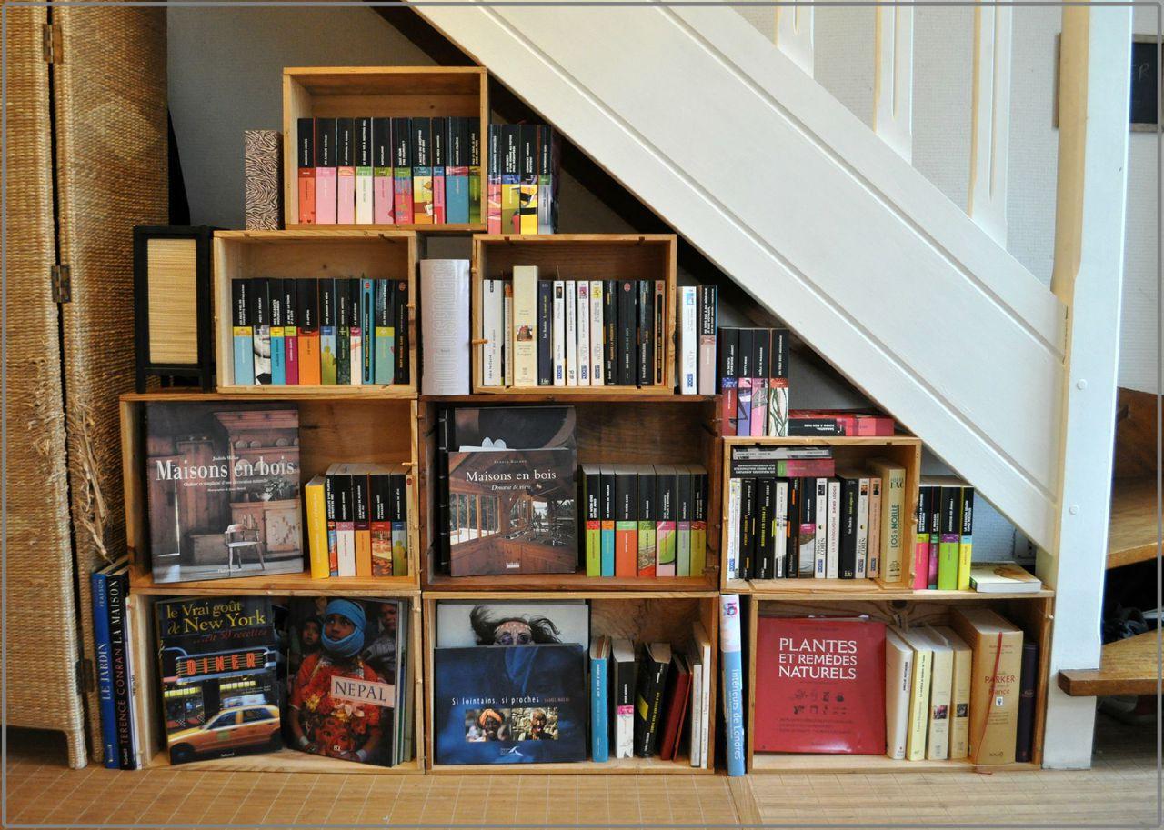 Caisse De Vin Déco bibliothèque caisse à vin - photo de déco - my créative life
