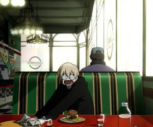anime, kekkai sensen, and black image