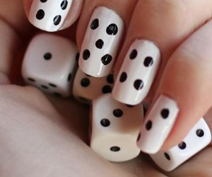 nails, cute, and simple image