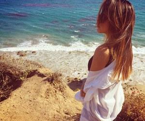 becky g, beach, and hair image