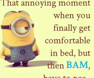 minions, funny, and true image
