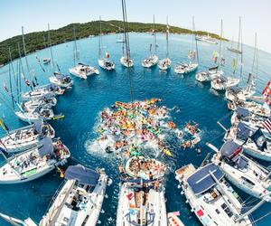 summer, boat, and fun image