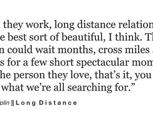 distance, long distance, and lovestory image