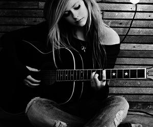 Avril Lavigne, Avril, and guitar image