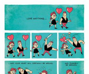 love, heart, and broken image