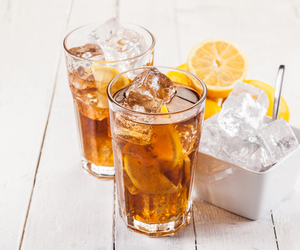 drink, summer, and tea image