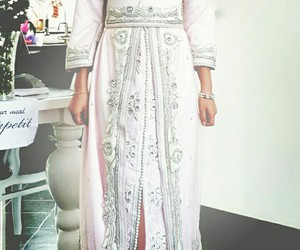 arabic, dress, and moroccan image