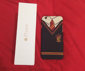 case, gold, and gryffindor image