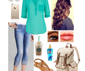 outfit, style, and Polyvore image