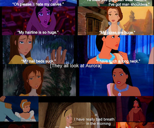 disney, mean girls, and princess image