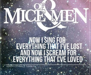 band, galaxy, and song lyrics image