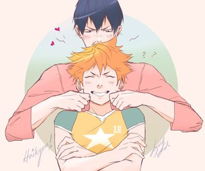 anime, hinata shouyou, and kageyama image