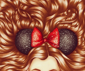 disney, drawing, and hair image