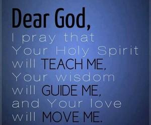 god, faith, and prayer image