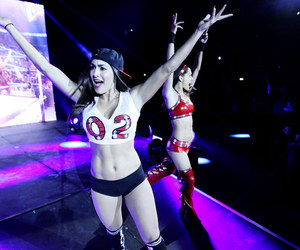 brie bella, bella twins, and nikki bella image