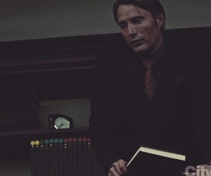 hannibal, serie, and hannibal lecter image