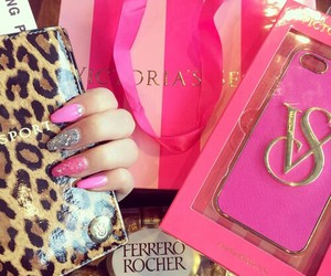 pink, luxury, and vs pink image