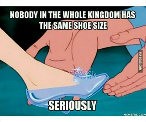 cinderella, funny, and lol image