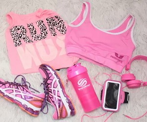 adidas, Victoria's Secret, and love pink image