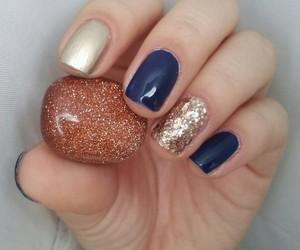 gem, nail art, and nail polish image