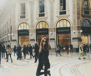 girl, Versace, and fashion image