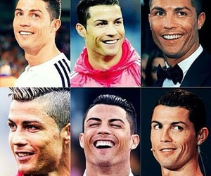 cristiano ronaldo, king, and guy image