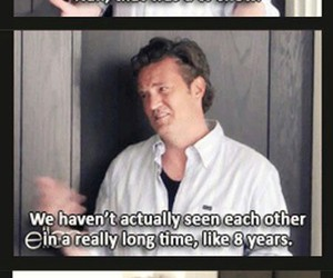 90's, chandler bing, and funny image