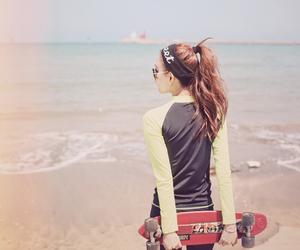 beach, fashion, and kfashion image