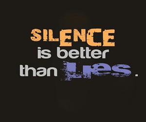 lies and silence image