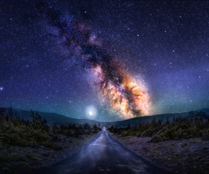 astronomy, beautiful, and galaxy image