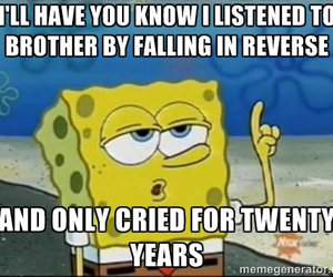 brother, family, and falling in reverse image