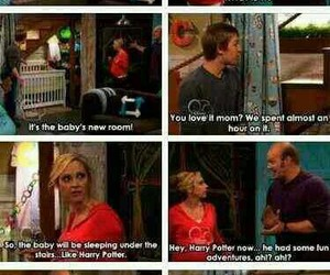 harry potter, funny, and good luck charlie image