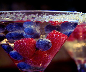 drink, fruit, and blueberry image