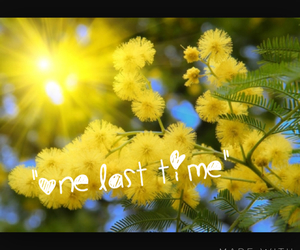 song, ariana grande, and one last time image