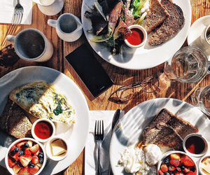 food, lunch, and breakfast image