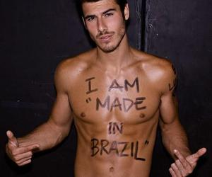 men, made in brazil, and cute image