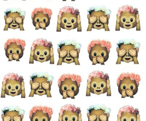 monkeys and floral image